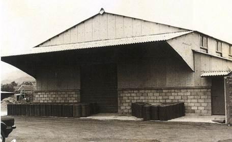 民國67年第一倉庫建設完成並啟用